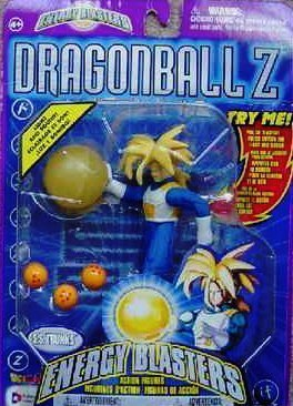 Preisvergleich Produktbild DragonBall Z Energy Blasters Light and Sound S.S. Future Trunks 5 Action Figure (2001 Irwin) by Irwin Toys