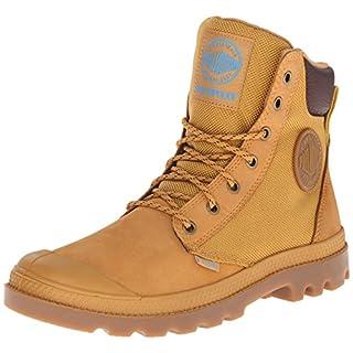 Palladium Men's Pampa Sport Cuff WPN Rain Boot, Amber Gold/Mid Gum, 9.5 M US