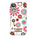 Uncommon C0005-AT Coque rigide Deflector pour iPhone 4/4s Flower to the people