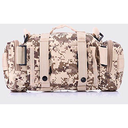 ELEAR® Utility Tactical Bag Marsupio Outdoor Borsa a tracolla Zaino tattici militari Sport all'aperto Campeggio Escursioni fango giungla digitale