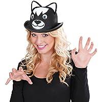NET TOYS Un buffo cappello di feltro per il carnevale con fattezze feline 645ecb6634b8