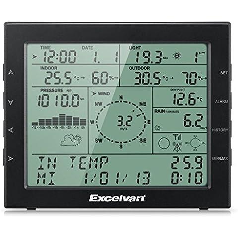 Excelvan WH2310 Stazione Meteo Meteorologica senza fili Wireless con Indice