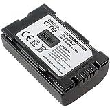 Accu pour Panasonic NV-DS60, 1100mAh;remplace: Panasonic CGR-D120 CGR-D220, CGA-D54S, CGA-D54SE, CGP-D14S, CGP-D210, CGR-D08s, CGR-D16S, CGR-D53S, CGR-D815, VW-VBD55