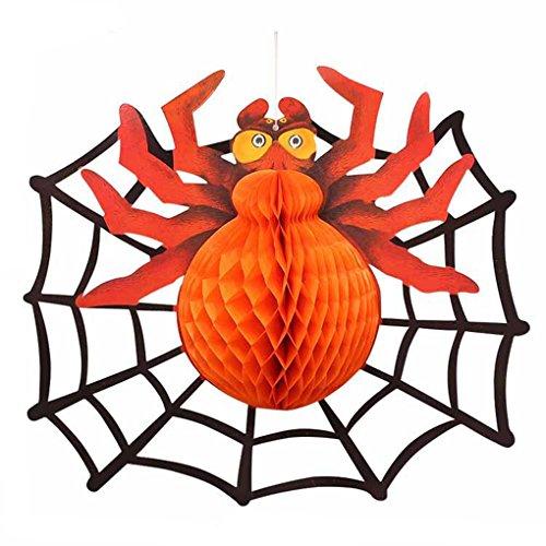 hes Halloween-Papier-hängende Laterne Geist-hängende Kürbis-Schläger-Spinnen-Stützen Papier für Bäume Stab-DIY Zusatz (Kürbisse Halloween Wallpaper)