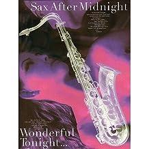 Sax After Midnight: Wonderful Tonight. Partituras para Saxofón