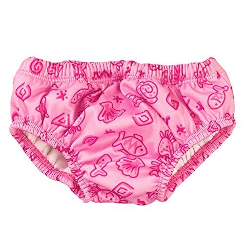 BABY-WALZ Bade-Windelhose Baby-Bademode, Größe 62/68, pink