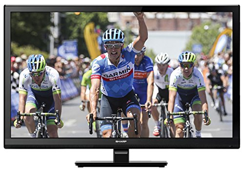 Sharp LC-24DHF4012E TV LCD da 24' HD-Ready con DVD integrato