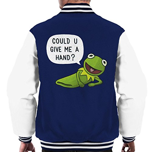 pets Kermit The Frog Give Me A Hand Men's Varsity Jacket ()