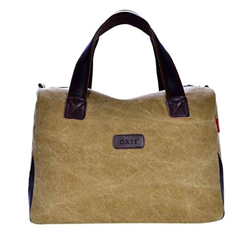 Preisvergleich Produktbild Schultertasche, iTECHOR Modische Lässige Canvas Handtasche Tote Tasche Umhängetasche Schultertasche