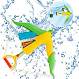 Wishtime Super Blaster Pistola Pistola ad Acqua Pistola ad Acqua Balestra Pistola ad Acqua Giocattoli da Spiaggia all'aperto Giochi d'Acqua per Bambini e Adulti