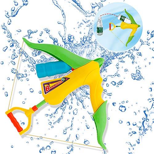 WISHTIME Riesige Super Soaker Wasserpistole Super Blaster Pistole Wasserpistole Armbrust Wasserpistole Spielzeug Strand Spielzeug Wasser Spielen Für Kinder und Erwachsene