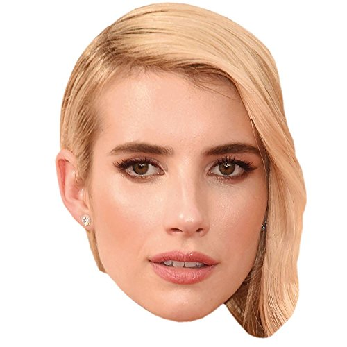 Celebrity Cutouts Emma Roberts Maske aus Karton
