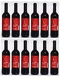 12x Kleoni Rotwein Imiglykos lieblich Lafkioti je 750ml + 2 Probier Sachets Olivenöl aus Kreta a 10 ml - griechischer roter Wein Rotwein Griechenland Wein Set