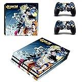 THTB Playstation 4 Pro + 2 Controller Aufkleber Schutzfolien Set - Dragonball (6) /PS4 P