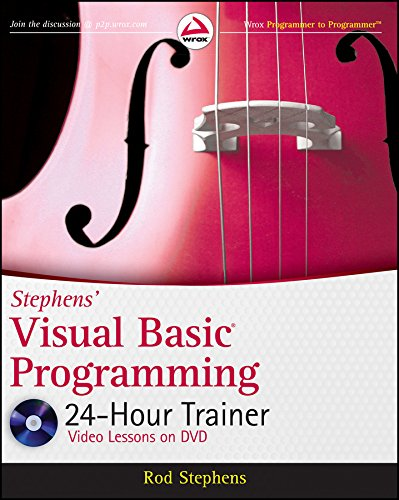 Stephens' Visual Basic Programming 24-Hour Trainer (Wrox Programmer to Programmer) (24 Rod)