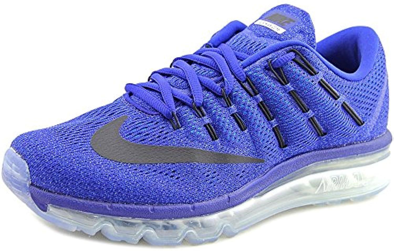 Nike Air Max 2016 Men US 7.5 Black Running Shoe