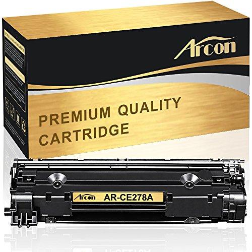 Arcon Kompatibel für HP CE278A 78A Toner für HP 78A Toner HP CE278A für HP P1606DN Toner, HP Laserjet P1566 M1536DNF, HP Laserjet M1536 MFP M1536DNF P1560 P1606 P1606DN, Canon LBP6230DW Toner