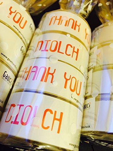 Gauci Organic Candles - Gauci Thank you & Diolch Jumbo Tealight set...