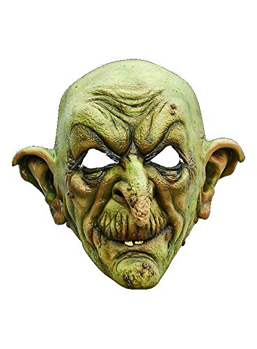 arty Kostüm Hexe Maske des Grauens aus Latex für Erwachsene ()