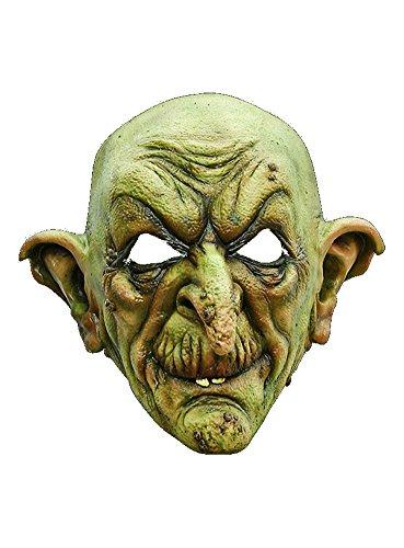 Aschermittwoch Kostüm - Halloween Karneval Party Kostüm Hexe Maske