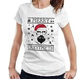 Breaking Bad Heisenberg Merry Chrystmeth Christmas Women's T-Shirt