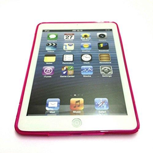 Hot Pink S-Line Slim TPU Sport Wave Gel Case für Apple iPad Air 2iPad 6 Line Wave Tpu Case