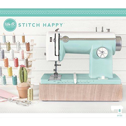 We R Memory Keepers wr663128Stitch Happy Nähmaschine-Mint, Plastik, Mint, 60 x 30 x 40 cm (Stitch Happy Halloween)