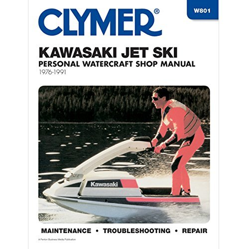 Kawasaki W801 Jet Ski Shop Manual, 1976-88