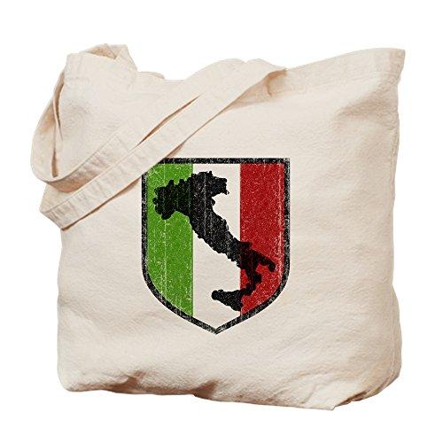 CafePress Einkaufstasche aus Segeltuch, Vintage-Stil, italienische Stiefel