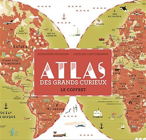 Atlas des grands curieux. Le coffret par Alexandre Messager