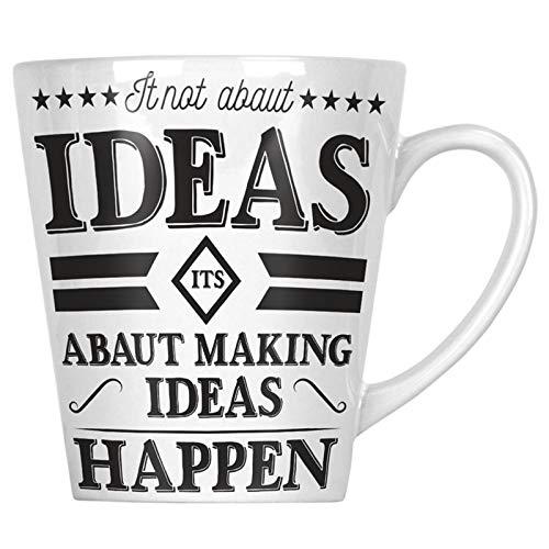 Ideas Abaut Making Happen 34 cl Latte Tasse gg324L
