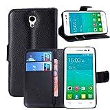 Manyip Téléphone Coque - PU Cuir Rabat Wallet Housse [Porte-Cartes] Multi-Usage...