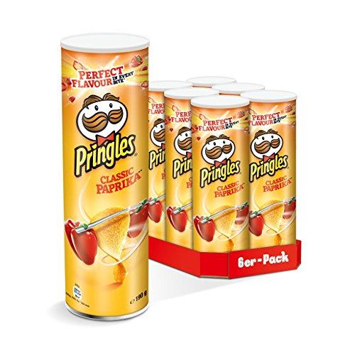 Pringles Classic Paprika, 6er Pack (6 x 190 g)