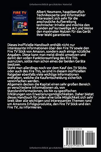 FIRE TV: Das ultimative Handbuch mit Anleitungen, Tipps und Tricks für Fire TV, Fire TV 4K Ultra HD und Fire TV Stick – Version 2018 - 2
