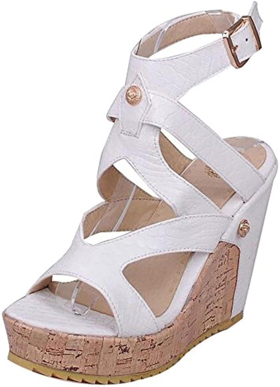 aad34d0b596b96 TAOFFEN Femmes s Mode Talons Chaussures CompenséesB07DJ1H99GParent  CompenséesB07DJ1H99GParent CompenséesB07DJ1H99GParent    Respectueux ...