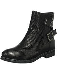 Clarks Maroda Spritz Black Leather, Schuhe, Stiefel & Stiefeletten, Hohe Stiefeletten, Schwarz, Female, 36