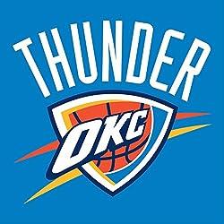 Oklahoma City Thunder NBA Escudo de pared Pegatina Vinilo 60cm x 60cm grande (700x 600x 600mm)