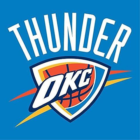 Oklahoma City Thunder NBA Basketball Crest mur Sticker mural adhésif en vinyle Art 60cm x 60cm Grand (600x 600mm)