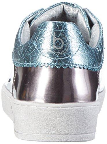 Bugatti J7608pr6n, Sneakers Basses Femme Bleu (Metal / Blau 815)
