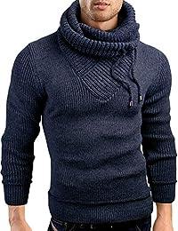 Grin&Bear coup slim sweat shirt col châle tricoté veste homme, GEC555