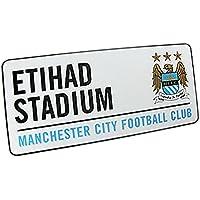 Official Manchester Man City FC Etihad Stadium Metal Street Sign