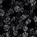 Brittschens Stoffe und Zutaten Stoff Softshell | Skull Camo