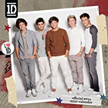 Official One Direction 2014 Mini Calendar (Mini Calendars 2014)