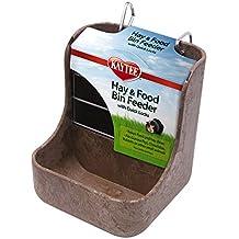 Kaytee alimentador de heno N contenedor de Comida con Cierres rápidos