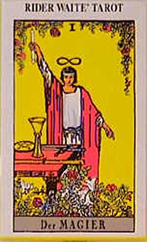 Rider Waite Tarot (Standard, 70 x 120 mm) (Golden Dawn Tarot-karten)