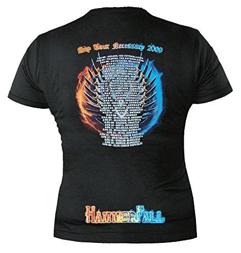 HAMMERFALL - Any tour means ... - GIRLIE Black