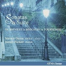 Breville, Koechlin, Tournemire: Sonatas & Suite