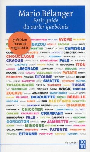 Petit guide du parler quebecois