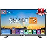Kevin 80 cm (32 Inches) K32CV338H HD Ready Smart LED TV (Black)