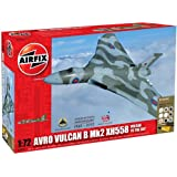 Airfix A50097 1:72 Scale Military Air Power Avro Vulcan XH58 Vulcan to the Sky Gift Set with Paints, Glue and Brushes